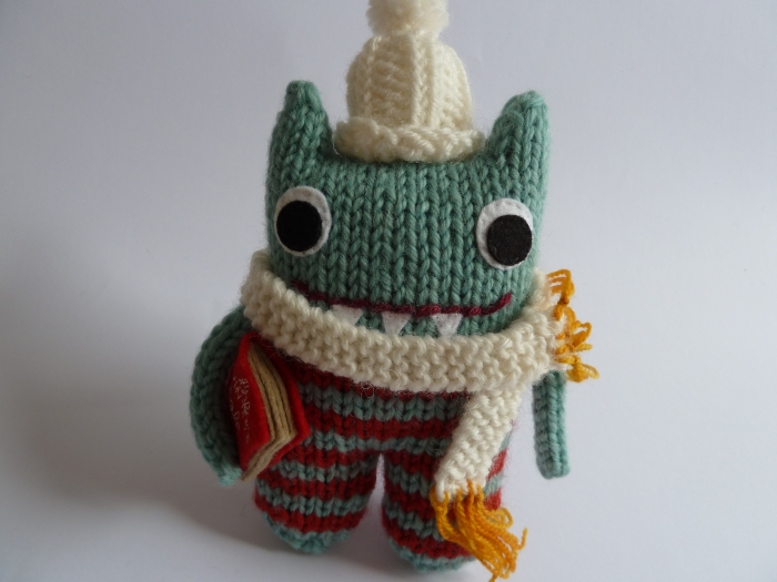 Winter Warmer Beastie, by CrawCrafts Beasties