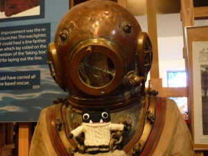 Paddy with the Vintage Diving Suit Again - H Crawford/CrawCrafts Beasties