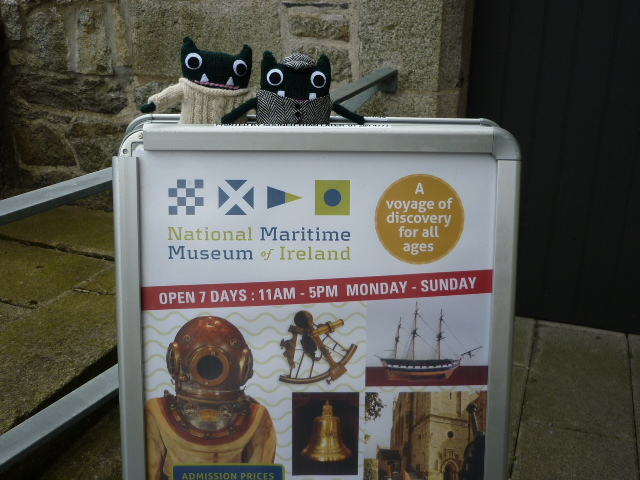 Paddy & Plunkett at the National Maritime Museum - H Crawford/CrawCrafts Beasties