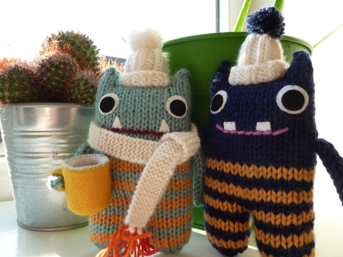 Cosy Cuppa Beastie and Bobble Hat Beastie