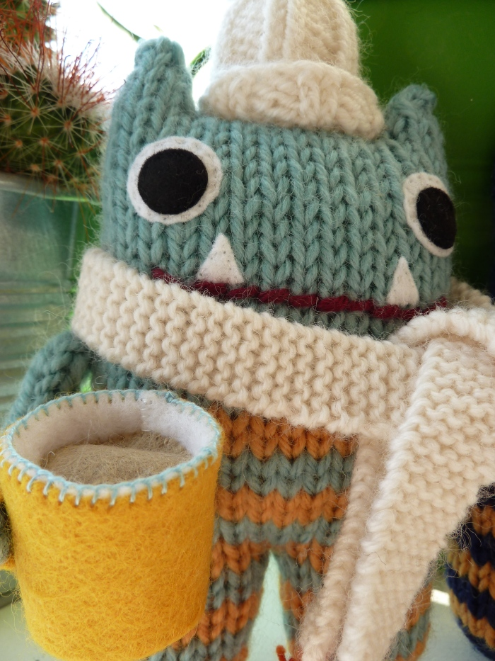 Cosy Cuppa Beastie, by CrawCrafts Beasties
