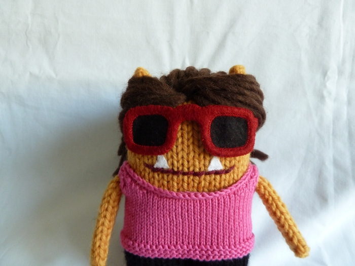 Tracy Beastie in Sunglasses, by CrawCrafts Beasties
