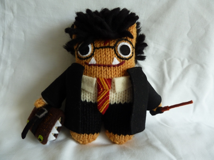Harry Potter Beastie (without his scarf this time), by CrawCrafts Beasties