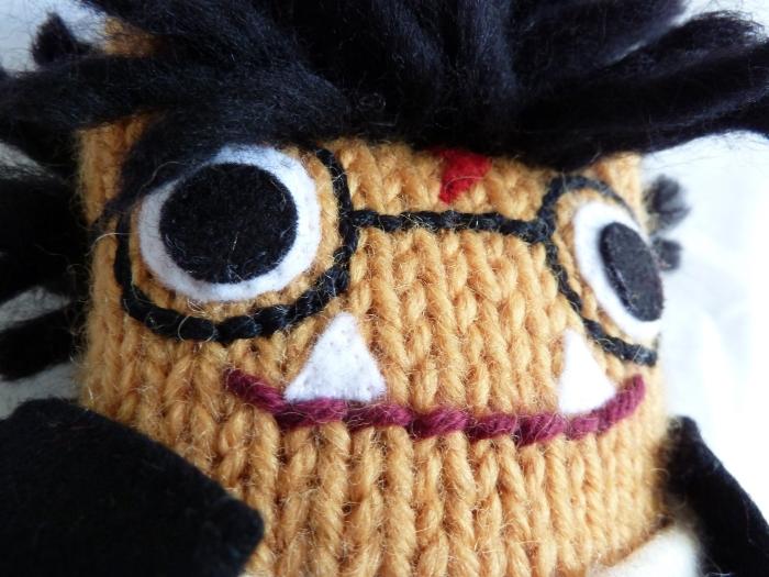 Harry Potter Beastie Closeup, by CrawCrafts Beasties
