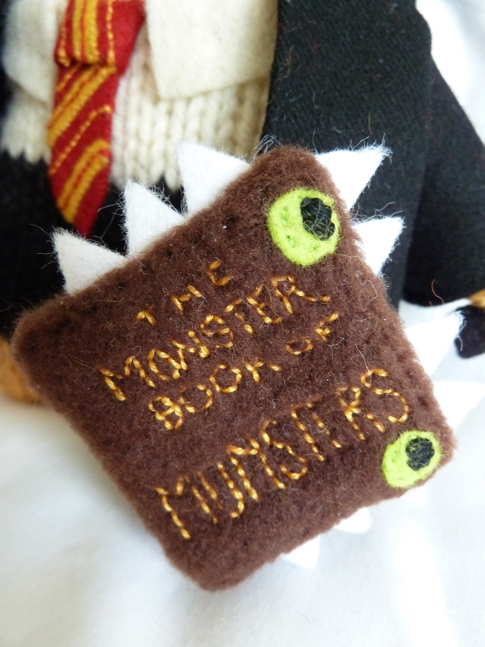 The Monster Book of Monsters Attacks! (CrawCrafts Beasties)