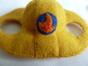 Fireman Beastie's Helmet, by CrawCrafts Beasties