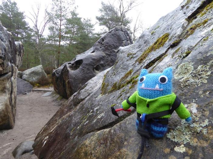 Climber Beastie Rocks! J Donaldson/CrawCrafts Beasties