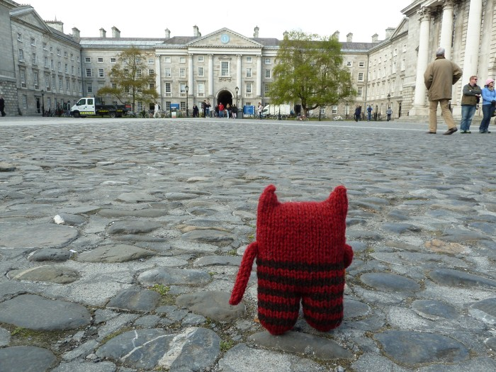 Front Square, Trinity College - CrawCrafts Beasties