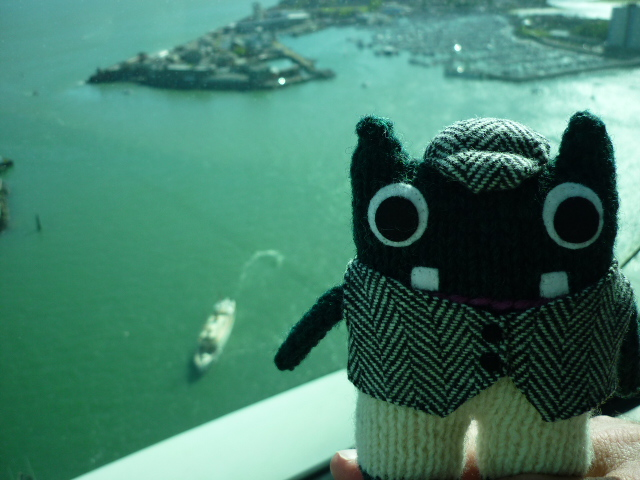 Plunkett Inside the Spinnaker Tower - H Crawford/CrawCrafts Beasties