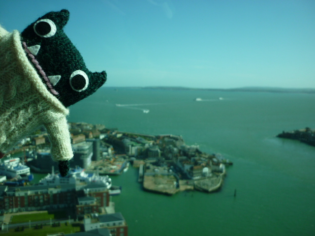 Paddy Over Portsmouth! CrawCrafts Beasties