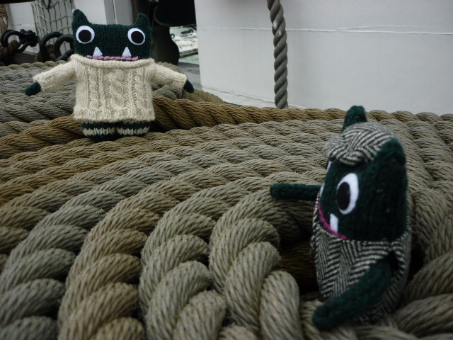 Paddy and Plunkett Continue Their Portsmouth Adventures - H Crawford/CrawCrafts Beasties