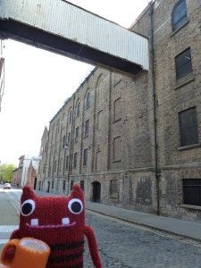 Tae Beastie in the old part of the Guinness Brewery - CrawCrafts Beasties