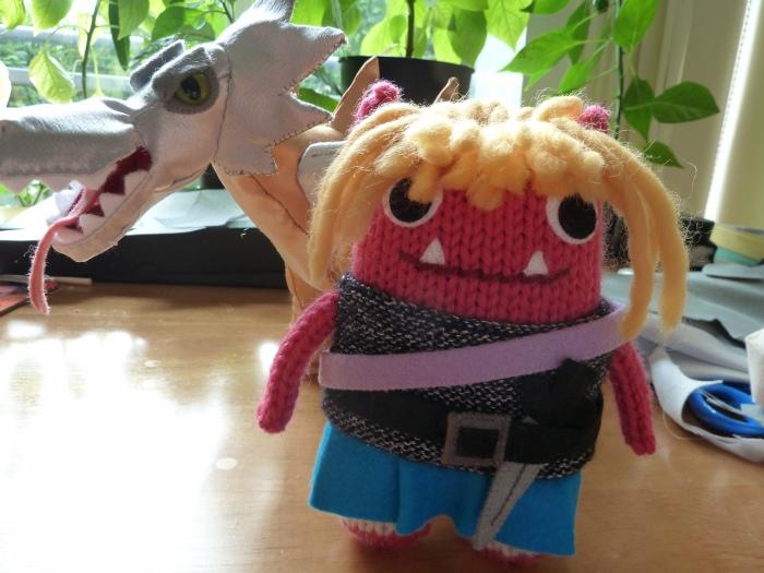 Dragon Slayer Beastie by CrawCrafts Beasties