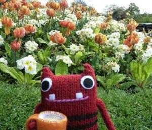 Spring Flowers at St Stephen's Green - CrawCrafts Beasties