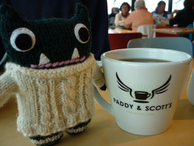 Paddy Stops for Coffee - H Crawford/CrawCrafts Beasties