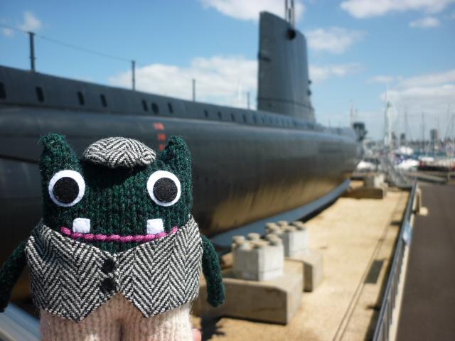 Plunkett with the Alliance Submarine - H Crawford/CrawCrafts Beasties