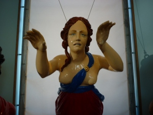 Scary Lady at the Figurehead Museum, Portsmouth - H Crawford/CrawCrafts Beasties