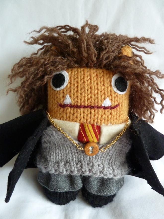 Hermione Beastie's Hogwarts Uniform, by CrawCrafts Beasties