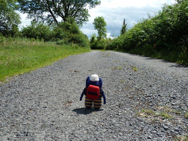 On The Road With Explorer Beastie - CrawCrafts Beasties