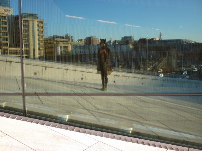 Me at the Oslo Opera House - CrawCrafts Beasties