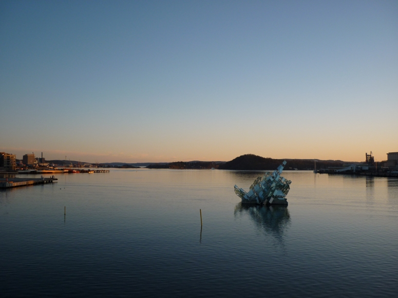 View from the Oslo Opera House - CrawCrafts Beasties