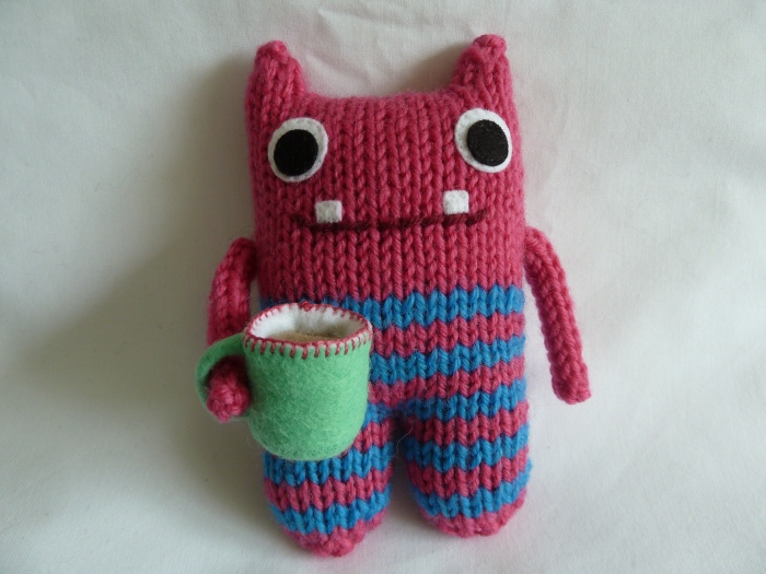 Tea Lover Beastie, by CrawCrafts Beasties