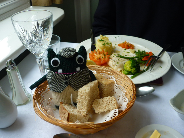 Plunkett treats himself to some lunch - H Crawford/CrawCrafts Beasties