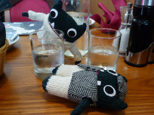 Paddy and Plunkett overindulge on the local brew - H Crawford/CrawCrafts Beasties