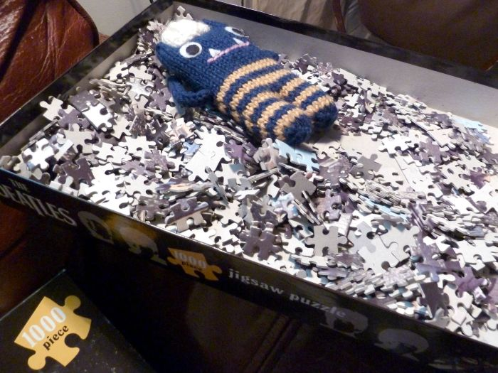 Jigsaws are so relaxing - CrawCrafts Beasties