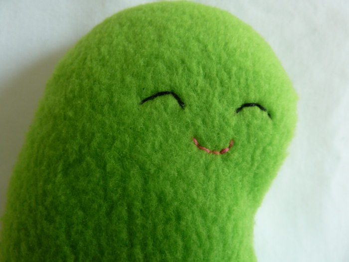 Mame-Chan Plushie Bean, by CrawCrafts Beasties