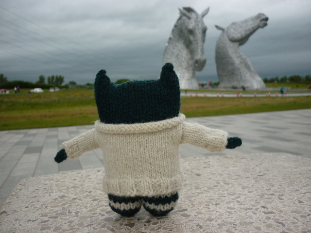 Paddy at the Kelpies - H Crawford/CrawCrafts Beasties