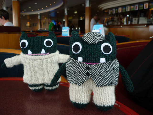 Paddy and Plunkett make it to the ferry - JUST! H Crawford/CrawCrafts Beasties