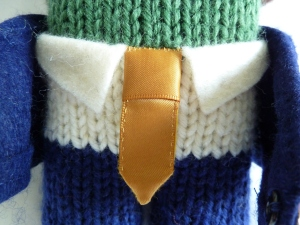 Groom Beastie's Tie, by CrawCrafts Beasties