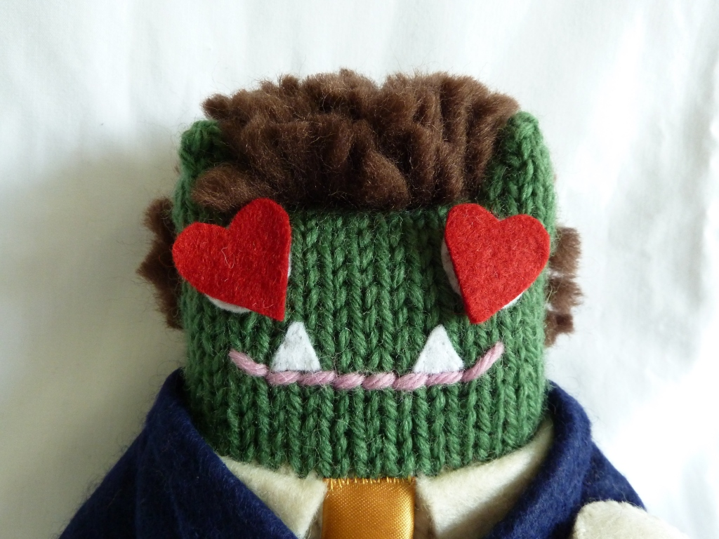 Lovestruck Groom Beastie - CrawCrafts Beasties