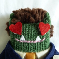 Lovestruck Groom Beastie - CrawCrafts Beasties