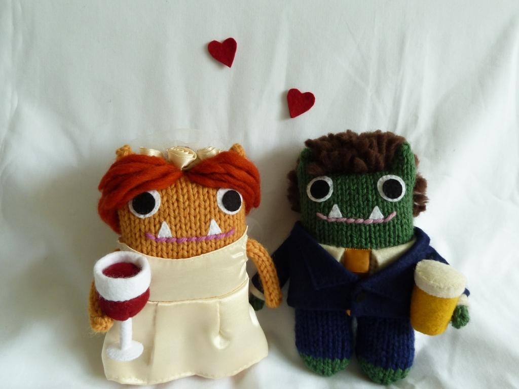 Wedding Beasties, by CrawCrafts Beasties