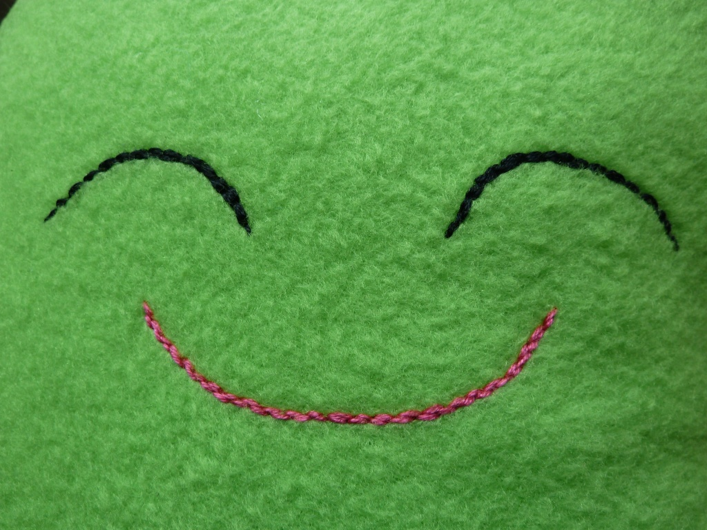 Smiley Bean Face! CrawCrafts Beasties