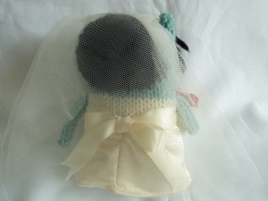 Bride Beastie's Hair and Veil - CrawCrafts Beasties