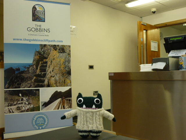 Paddy at The Gobbins Visitor Centre - H Crawford/CrawCrafts Beasties