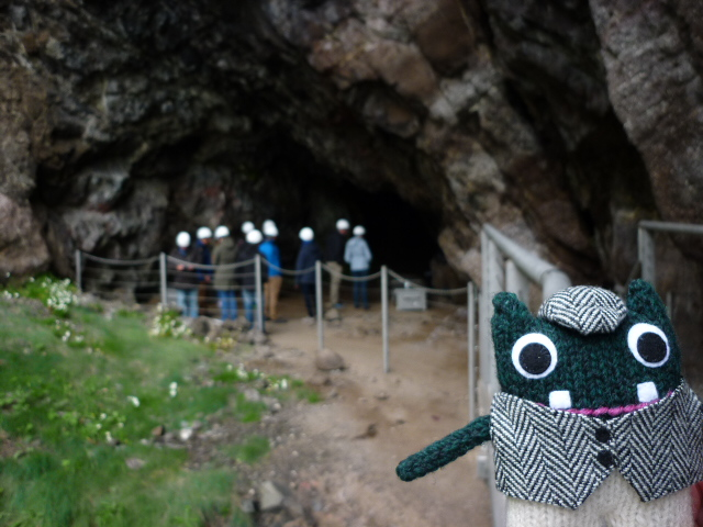 Plunkett at the Sandy Cave, The Gobbins - H Crawford/CrawCrafts Beasties