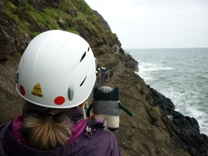 Plunkett at The Gobbins - H Crawford/CrawCrafts Beasties