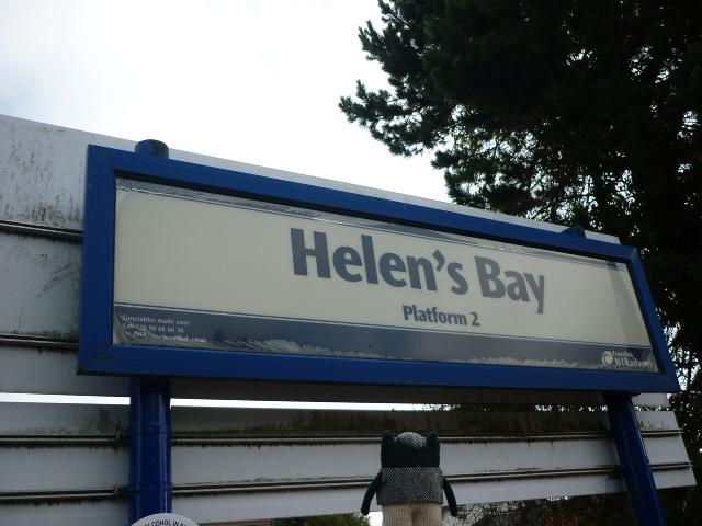 Plunkett at Helen's Bay Station - H Crawford/CrawCrafts Beasties