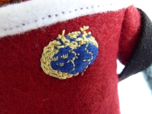 Munster Rugby Crest, by CrawCrafts Beasties