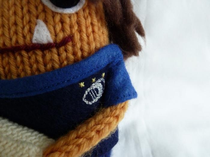 Mum Beastie, Leinster Supporter! CrawCrafts Beasties