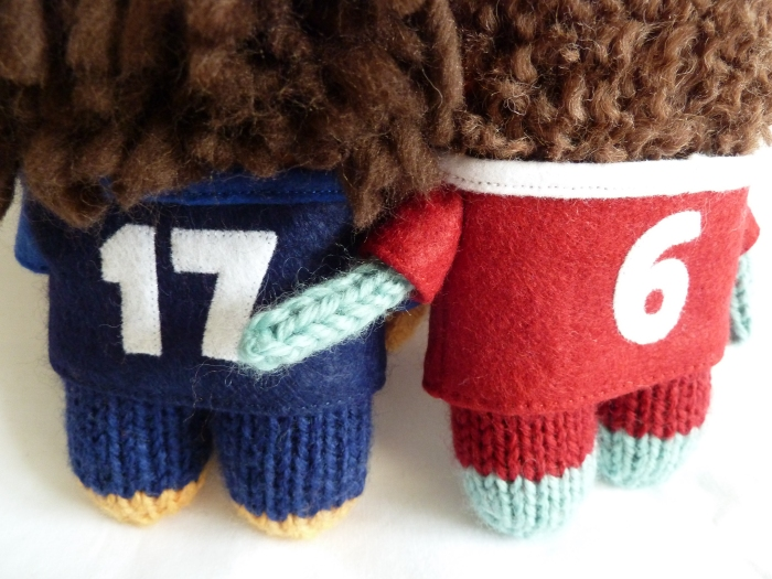 Special Numbered Rugby Shirts, by CrawCrafts Beasties