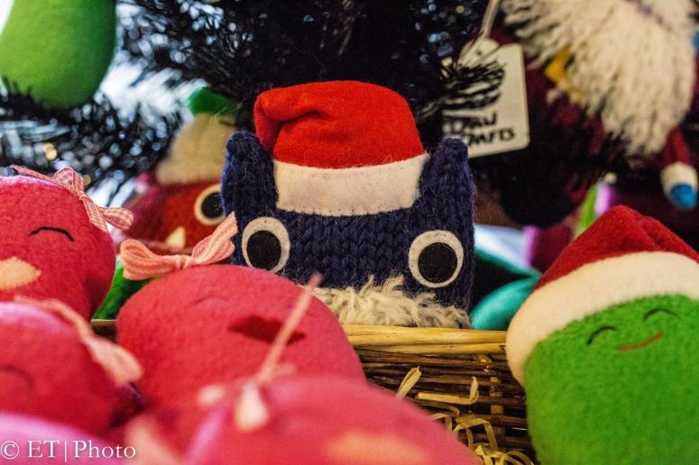 Santa Beastie Among the Beans - E Torgersen/CrawCrafts Beasties