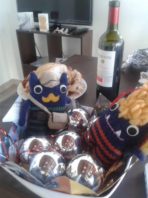 Beastie Christmas, Argentina - R Turpin/CrawCrafts Beasties