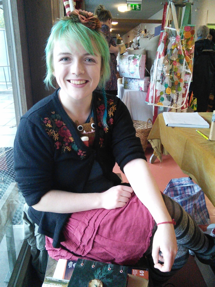 Aoife and her Beastie - CrawCrafts Beasties