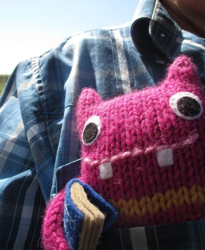 Reader Beastie, Travelling in Style! N Couture/CrawCrafts Beasties
