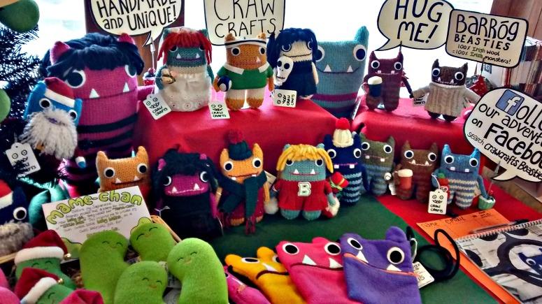 My Market Stall - CrawCrafts Beasties